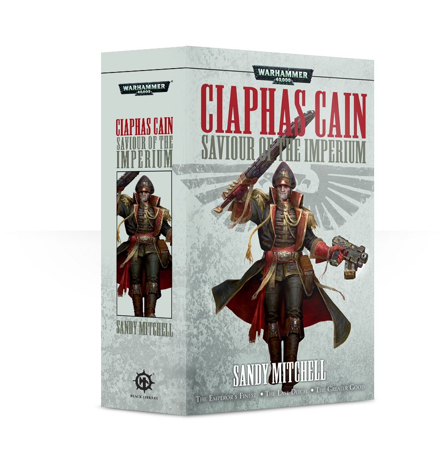 Games Workshop: Black Library: Ciaphas Cain Saviour of the Imperium: www.mightylancergames.co.uk