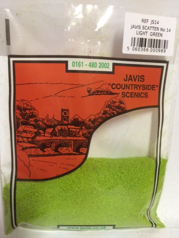 JAVIS SCATTER NO.14 LT GREEN 12s 40gms approx