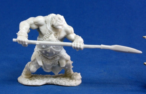 77045 - Orc Hunter, with Spear (Reaper Bones) :www.mightylancergames.co.uk