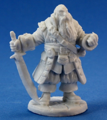 Reaper Bones 77132 - Barnabus Frost, Pirate Captain: www.mightylancergames.co.uk