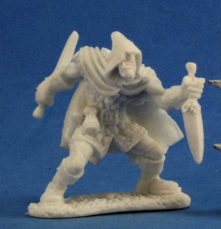 reaper miniature uk stockist tabletop miniatures half orc rogue