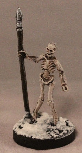 77244: Skeleton Warrior Spearman (3 figures)