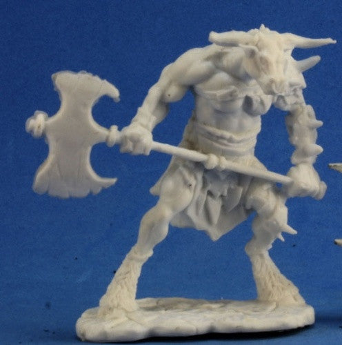 Reaper Bones - 77251 - Bloodhoof, Minotaur Barbarian: www.mightylancergames.co.uk