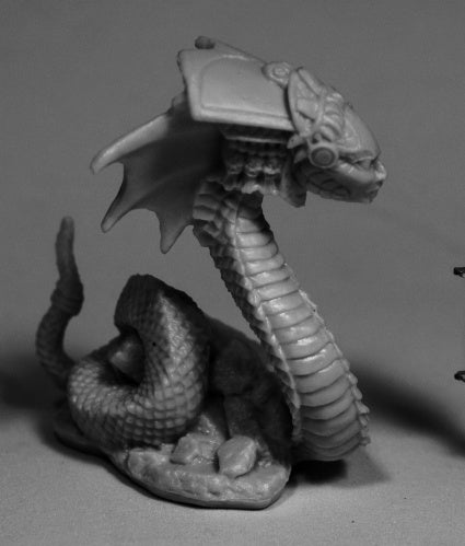 Reaper Bones 77511 - Xiloxoch, Naga: www.mightylancergames.co.uk