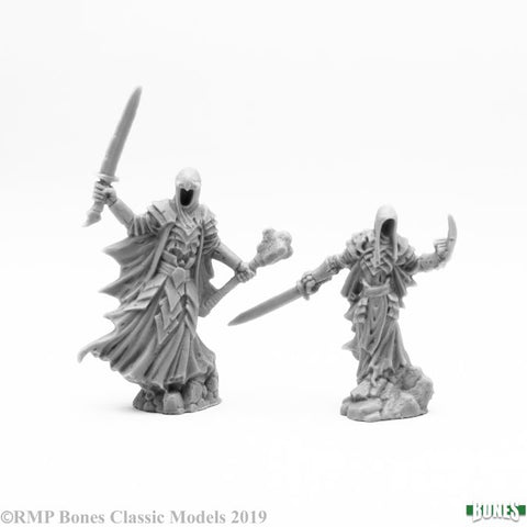 77642 Wraith Lord and Bodyguard (Bones - 2 Figures) :www.mightylancergames.co.uk