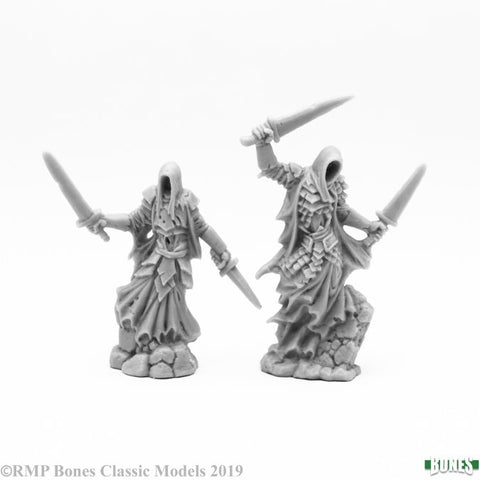 77643 Wraith Duelists (Bones - 2 Figures) :www.mightylancergames.co.uk