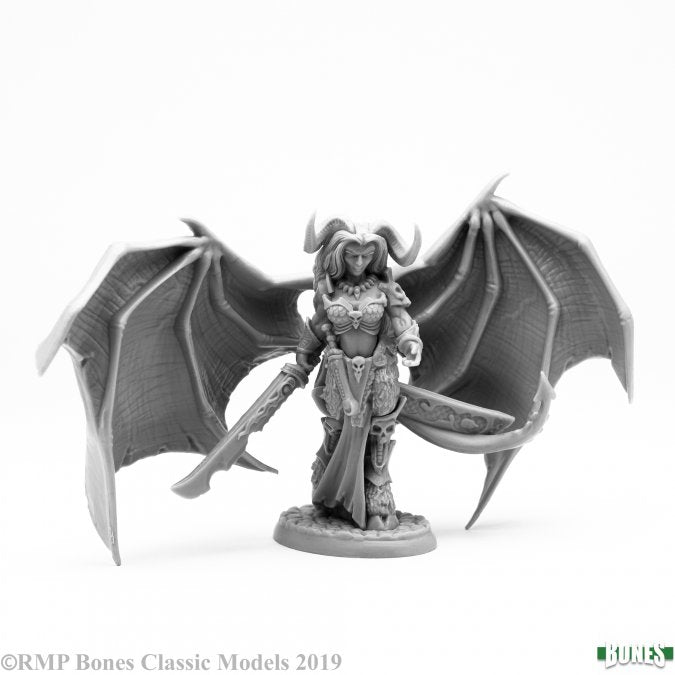 77645 - Queen of Hell (Bones) :www.mightylancergames.co.uk