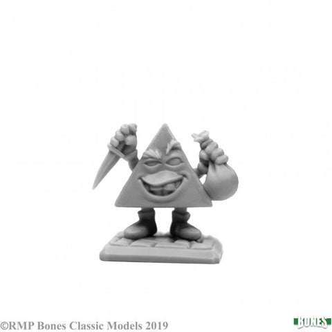 77646 - Pyram the Pincher, d4 (Bones) :www.mightylancergames.co.uk