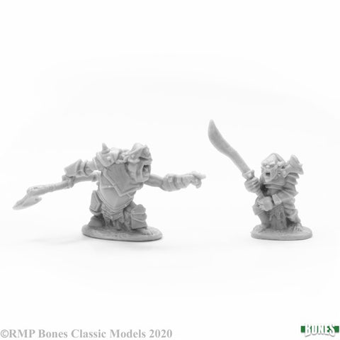 reaper miniatures ARMORED GOBLIN LEADERS