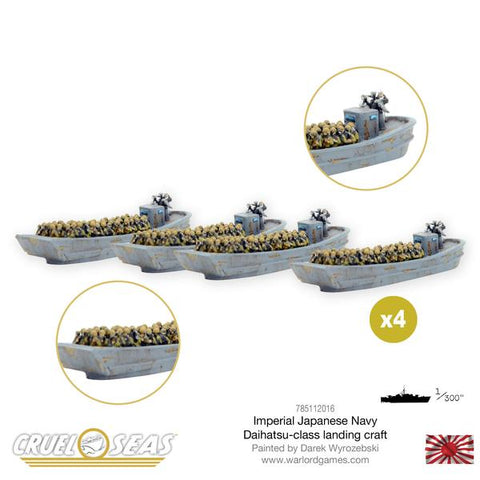Cruel Seas - Imperial Japanese Daihatsu-class landing craft