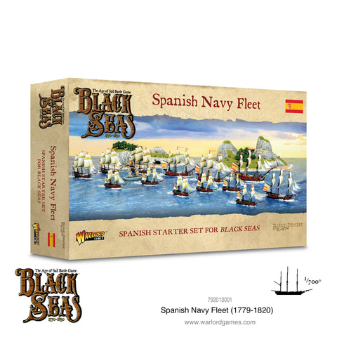 Spanish Navy Fleet  - Black Seas (The Age of Sail Game)