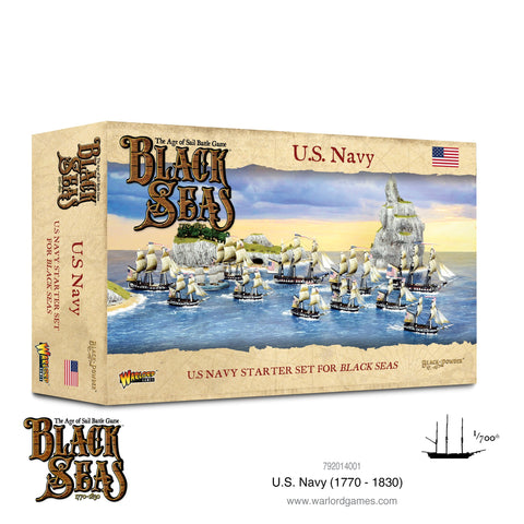 U.S. Navy Fleet - Black Seas (The Age of Sail Game)