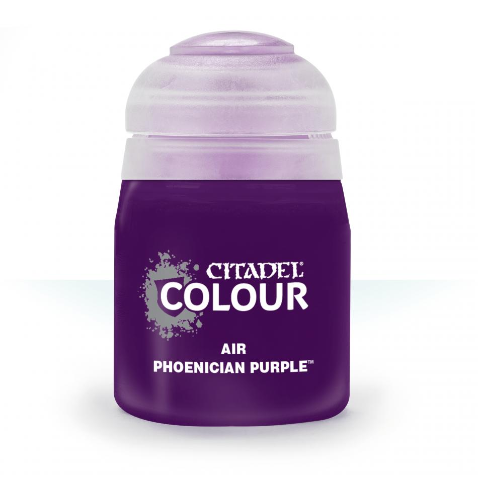 Citadel Air  - Phoenician Purple Clear (24ml) :www.mightylancergames.co.uk