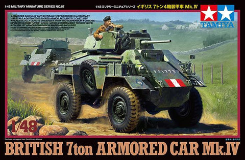 British 7 ton Armored Car Mk.IV- 1/48- Tamiya - 32587