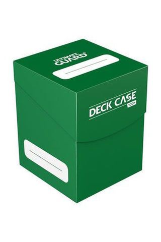 Ultimate Guard Deck Case 100+ Standard Size Green