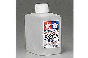 X20-A Thinners 250ml Bottle (Tamiya Paint) :www.mightylancergames.co.uk
