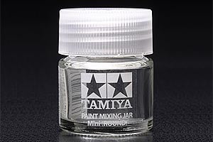 81044 PAINT MIXING JAR MINI (ROUND) - TAMIYA PAINT SYSTEM