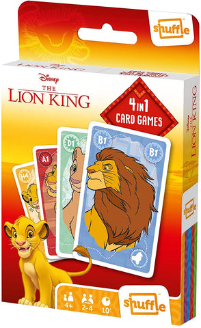 The Lion King 4 In 1 Card Games