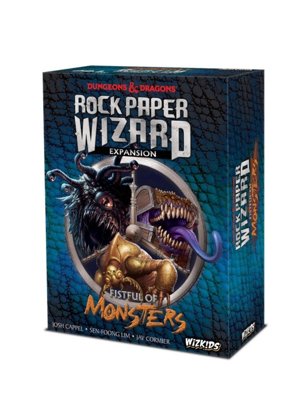 Rock, Paper, Wizard - Fistful of Monsters: www.mightylancergames.co.uk