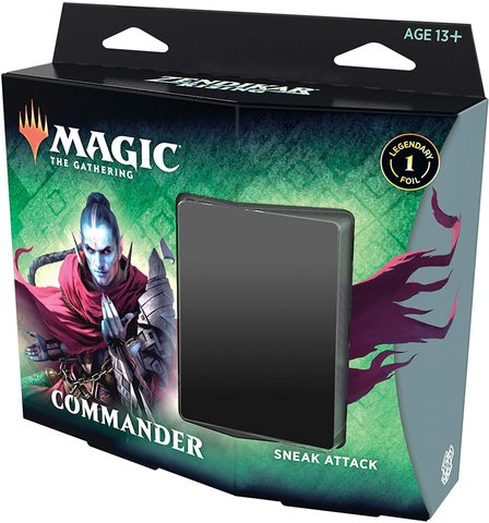 Magic: The Gathering: Zendikar Rising Sneak Attack Commander Deck