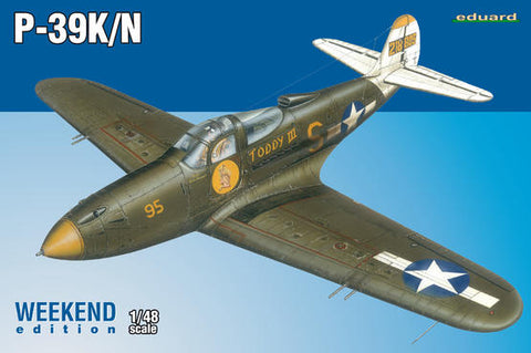 P-39K/N - Eduard Kit 1:72 Weekend Edition: www.mightylancergames.co.uk
