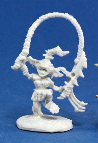 Reaper Pathfinder Bones - 89004 - Pathfinder Goblin Warchanter: www.mightylancergames.co.uk