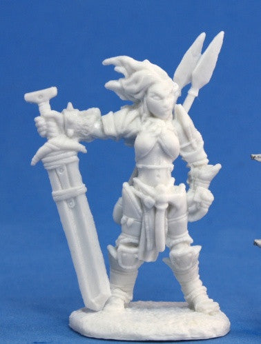 89005 - Amiri, Iconic Barbarian (Pathfinder Bones) :www.mightylancergames.co.uk