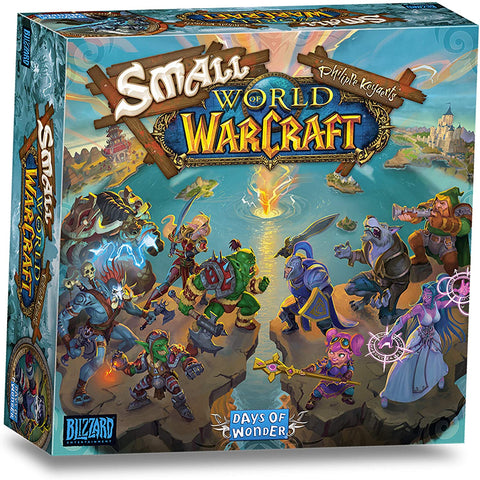 Small World Of Warcraft - Board Game- Mighty Lancer Games