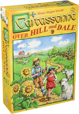 Carcassonne Over Hill and Dale Game