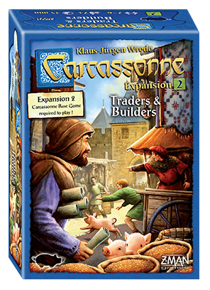 Carcassonne - Traders and Builders Expansion: www.mightylancergames.co.uk