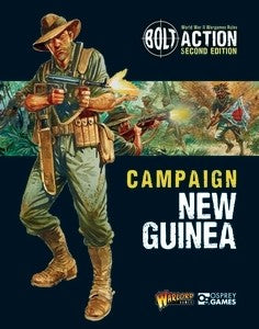 Campaign New Guinea - Campaign Book  (Bolt Action) :www.mightylancergames.co.uk