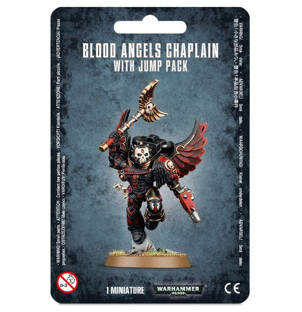 Blood Angels Chaplain with Jump Pack - Blood Angels (Warhammer 40k) :www.mightylancergames.co.uk