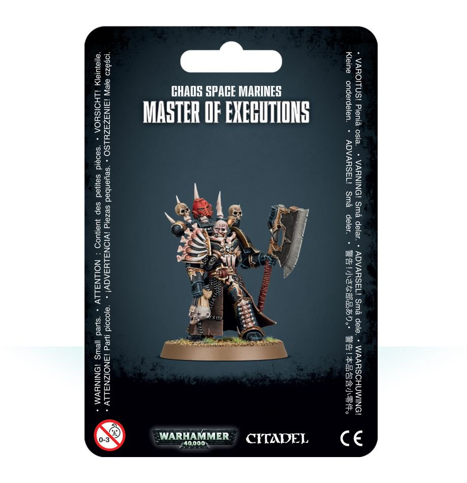 Chaos Space Marines - Master of Executions: www.mightylancergames.co.uk