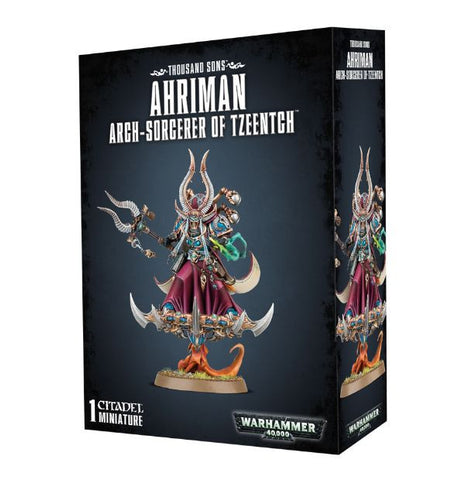 Ahriman Arch-Sorcerer of Tzeentch (Warhammer 40k): www.mightylancergames.co.uk
