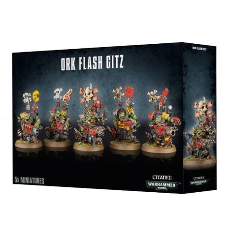 Ork Flash Gitz - Orks (Warhammer 40k) :www.mightylancergames.co.uk