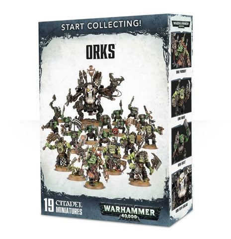 Orks Start Collecting!: www.mightylancergames.co.uk