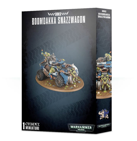 Ork Boomdakka Snazzwagon: www.mightylancergames.co.uk