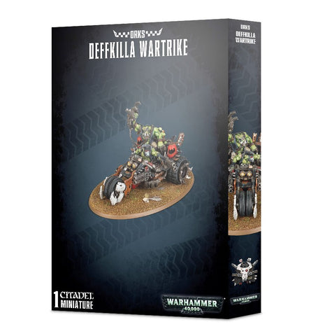 Deffkilla Wartrike - Orks (Warhammer 40k): www.mightylancergames.co.uk