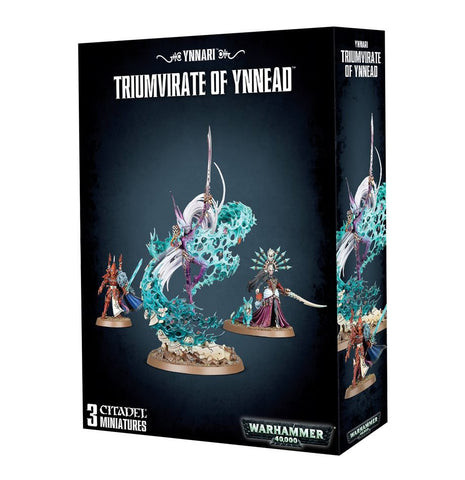 Triumvirate of Ynnead - Ynnari (Warhammer 40k) :www.mightylancergames.co.uk