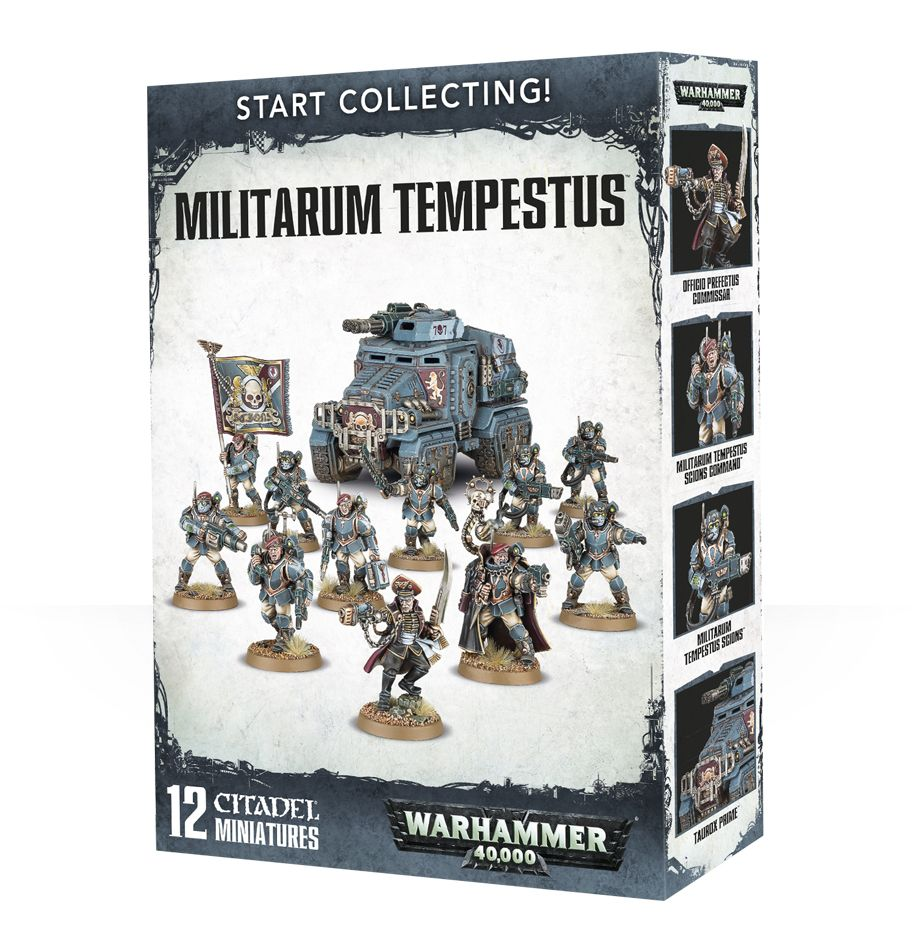 Militarum Tempestus: Start Collecting!
