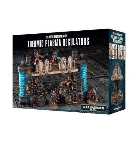 Thermic Plasma Regulators - Sector Mechanicus (Warhammer 40k Scenery): www.mightylancergames.co.uk