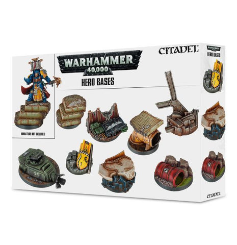 Warhammer 40,000 - Hero Bases :www.mightylancergames.co.uk