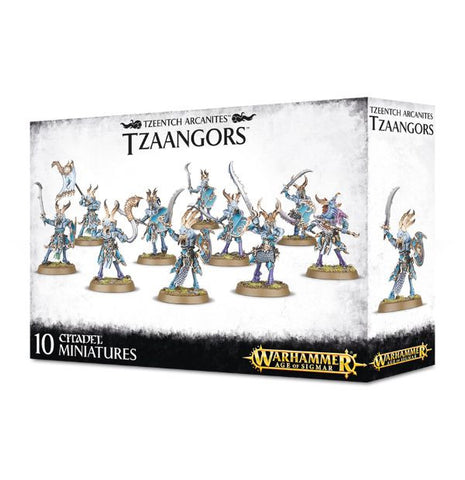 Tzaangors - Disciples of Tzeentch (Age of Sigmar)