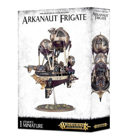 Arkanaut Frigate - Kharadron Overlords (Age of Sigmar): www.mightylancergames.co.uk