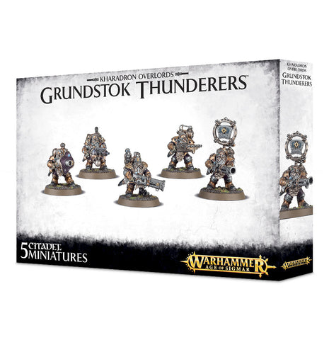 Grundstok Thunderers - Kharadron Overlords (Age of Sigmar) :www.mightylancergames.co.uk