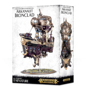 Arkanaut Ironclad - Kharadron Overlords (Age of Sigmar): www.mightylancergames.co.uk