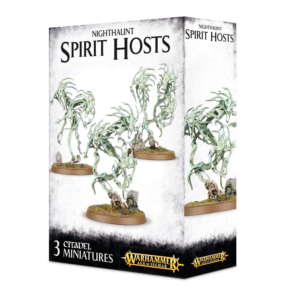 Age of Sigmar: Nighthaunt Spirit Hosts