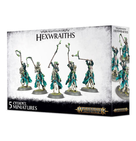 Games Workshop Age of Sigmar: Nighthaunt Hexwraiths: www.mightylancergames.co.uk