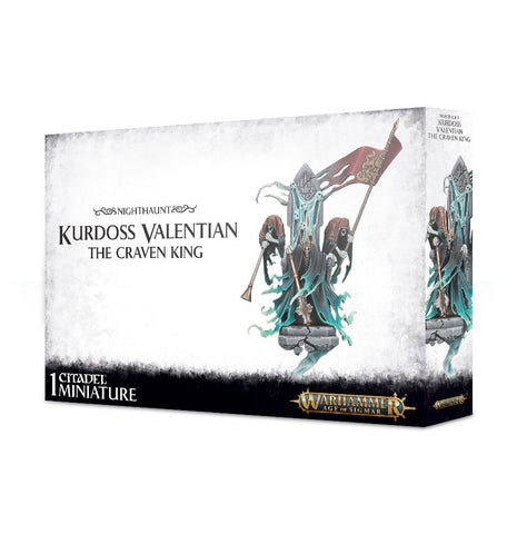 Kurdoss Valentian, The Craven King - Nighthaunts (Age of Sigmar): www.mightylancergames.co.uk