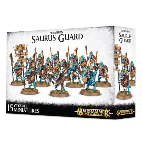 Saurus Guard - Seraphon (Age of Sigmar): www.mightylancergames.co.uk